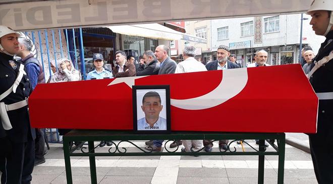 POLİS TALİP BAYRAM İSTANBUL'DA EBEDİYETE UĞURLANDI