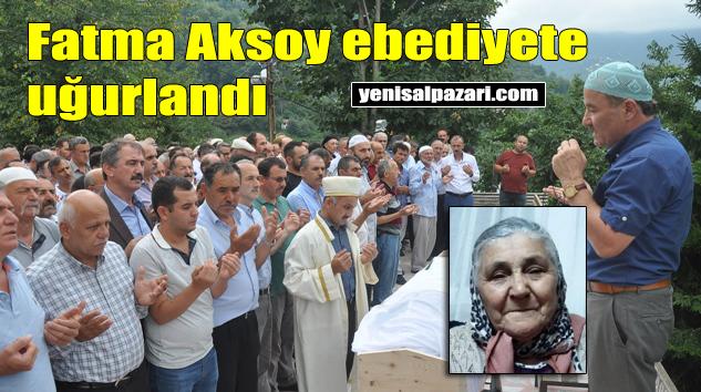 Fatma Aksoy'un cenazesi Sugören Mahallesi'nde toprağa verildi