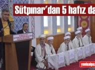 Sütpınar Kur'an Kursu hafız yetiştirmeye devam ediyor
