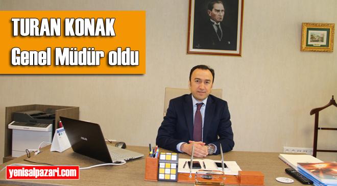 Hemşehrimiz Turan Konak, Çevre ve Şehircilik Bakanlığı Yerel Yönetimler Genel Müdürlüğü'ne atandı