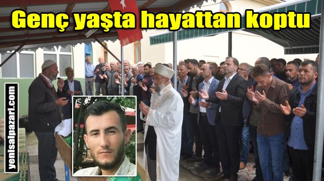 Trafik kazasında hayatını kaybeden İbrahim Cirit Güdün Mahallesi'nde toprağa verildi