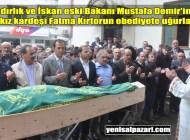 Fatma Kırtorun'un cenazesi Turalıuşağı Mahallesi'nde toprağa verildi