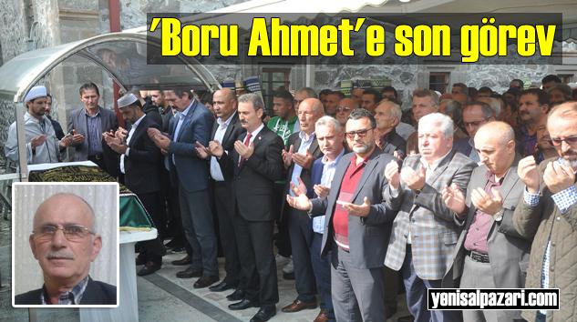 Emekli İETT Şoförü Ahmet Muhcu'nun cenazesi Dereköy Mahallesi'nde toprağa verildi