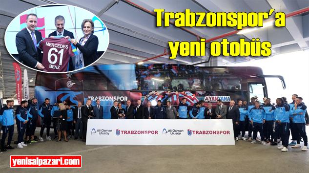 Trabzonspor'a yeni otobüs Ali Osman Ulusoy Turizm'den