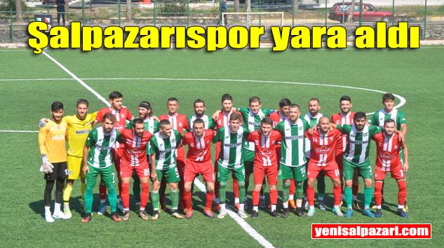 Şalpazarıspor, Yeşilköyspor'a 3-2 mağlup oldu