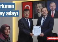 Muzaffer Türkmen, Şalpazarı Belediye Başkanı Adaylığı için AK Parti'ye müracaatını yaptı