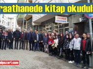 """Şalpazarı AYMTAL, Abaloğlu Kıraathanesi'nde """"Okuma Etkinliği"""" düzenledi"""