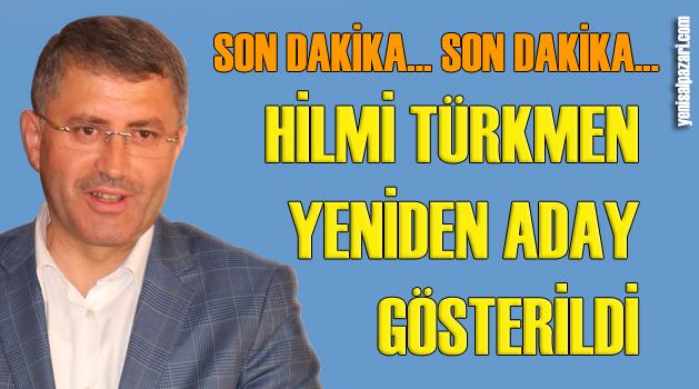 AK Parti Üsküdar'da yeniden hemşehrimiz Hilmi Türkmen'i aday gösterdi