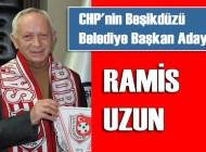 CHP Beşikdüzü'nde yeniden Ramis Uzun'la yarışacak