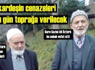 Hüseyin Öztürk ve Ali Öztürk kardeşlerin cenazesi Ağırtaş'ta Cuma namazından sonra toprağa verilecek
