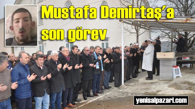 Mustafa Demirtaş'ın cenazesi Geyikli'de toprağa verildi