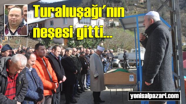 Osman Bektaş'ın cenazesi Turalıuşağı Mahallesi'nde toprağa verildi