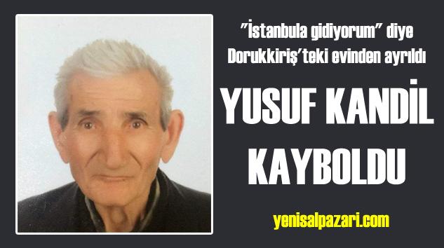Alzheimer hastası Yusuf Kandil henüz bulunamadı