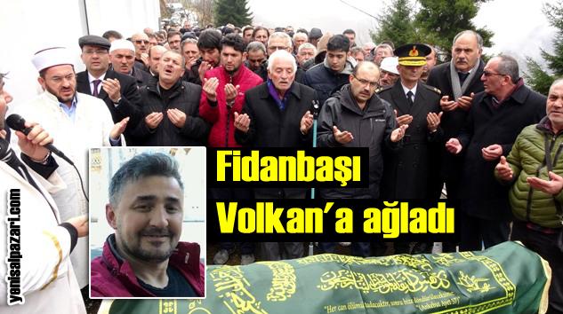 Volkan Balta'nın cenazesi Fidanbaşı Mahallesi'nde toprağa verildi