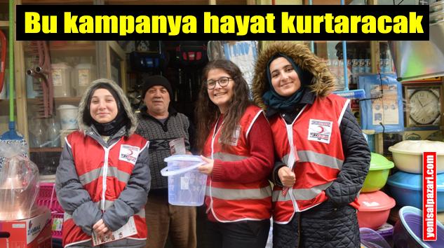 Şalpazarı'nda Kan ve İlik Bağışı Toplama Kampanyası düzenlendi