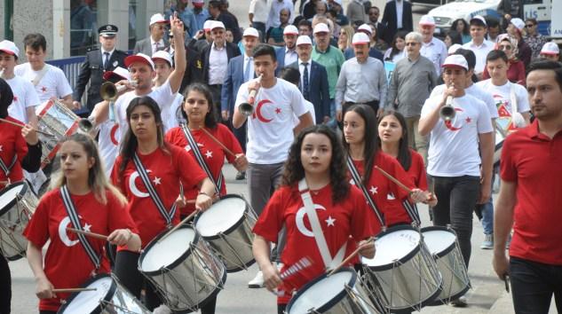 Şalpazarı'nda 19 Mayıs Bayramı'nın 100. yıldönümü törenlerle kutlandı