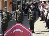 Kıbrıs Gazisi Ali Gürman'a son görev