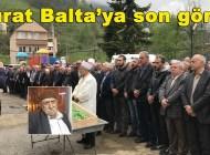 Uçuruma yuvarlanarak hayatını kaybeden Murat Balta'nın cenazesi Geyikli'de toprağa verildi