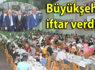 Trabzon Büyükşehir Belediyesi Şalpazarı'nda iftar yemeği verdi