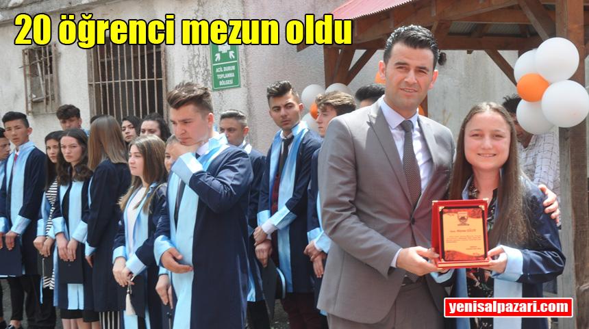 Şalpazarı Anadolu Lisesi 3'üncü mezuniyet töreni yapıldı