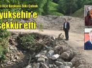Sayvançatak, Çamlıca ve Sütpınar'da sel tahribatı gideriliyor