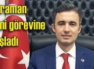 Cengiz Karaman MSB'deki yeni görevine başladı