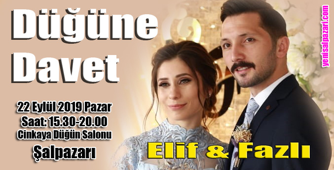 Elif Tosun ile Fazlı Demirtürk evleniyor