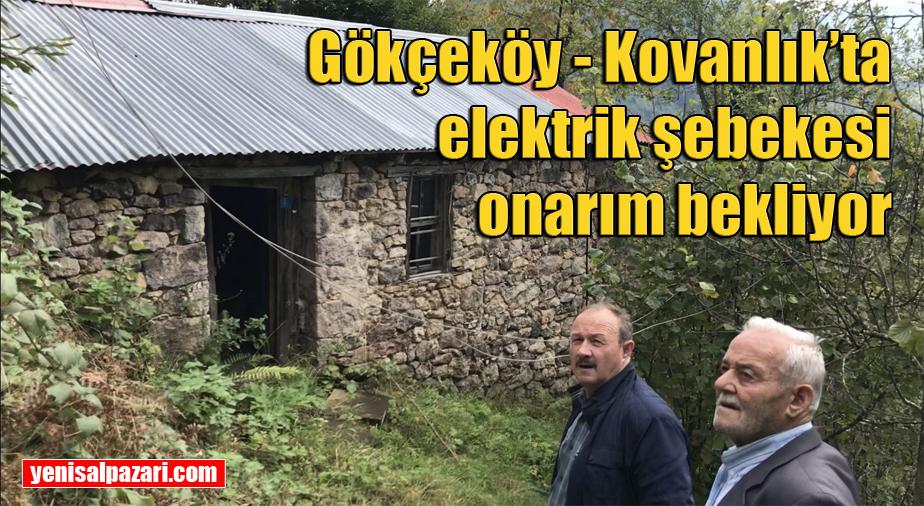 1985 yılında kurulan elektrik şebekesi tehlike saçıyor