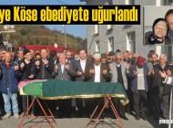 Nadiye Köse'nin cenazesi Tepeağzı Mahallesi'nde toprağa verildi