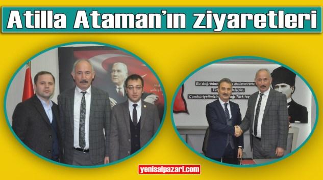 Trabzon B.B. Başkan Vekili Atilla Ataman Şalpazarı'nda ziyaretlerde bulundu