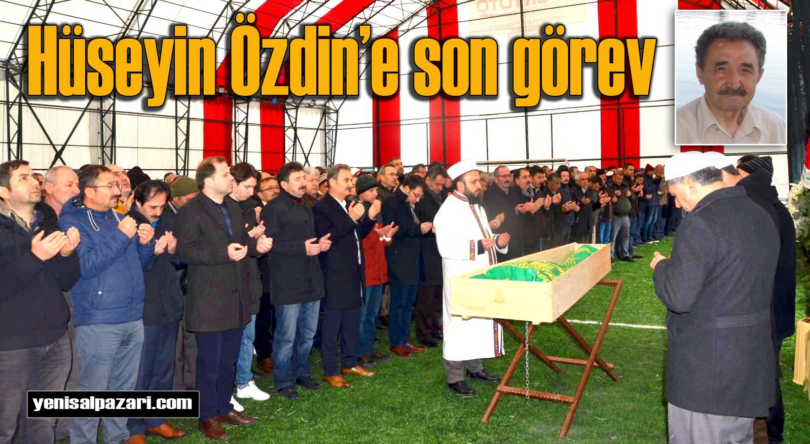 ANAP Eski İlçe Başkanı Hüseyin Özdin'in cenazesi Sayvançatak'ta toprağa verildi