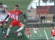 Şalpazarıspor, gerilimli maçta Arsin Yeşilyalıspor'a 2-1 mağlup oldu