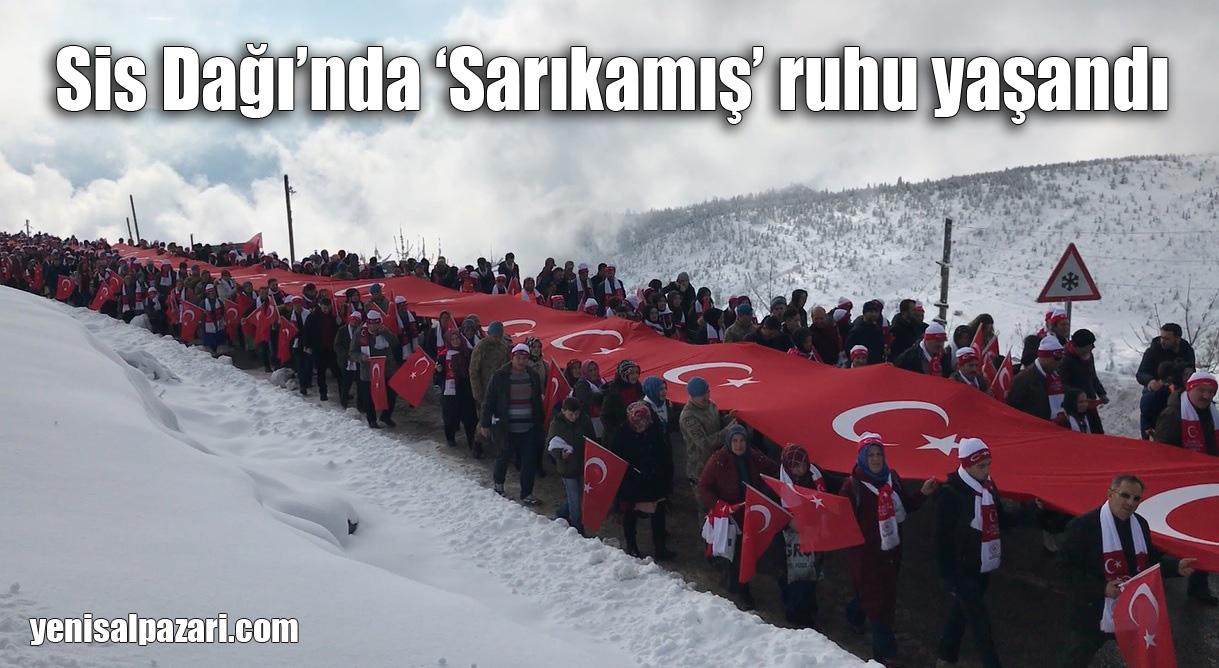 Binlerce kişi Sarıkamış Şehitlerimizi Anma Yürüyüşüne katıldı