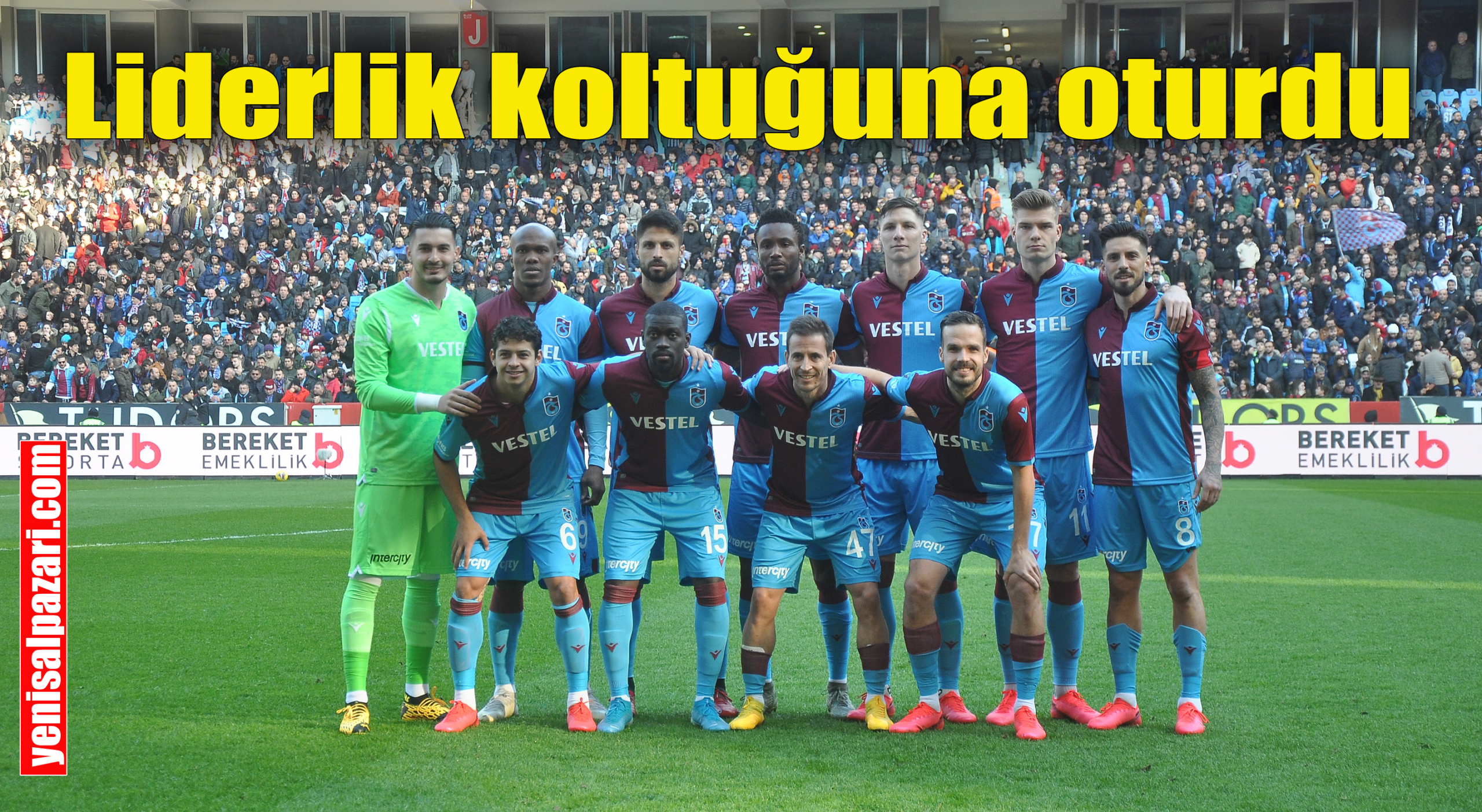 Trabzonspor, DG Sivasspor'u 2-1 yenerek liderliğe yükseldi