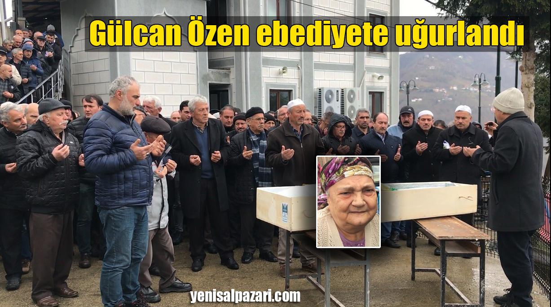 Gülcan Özen'in cenazesi Üzümözü Mahallesi'nde toprağa verildi