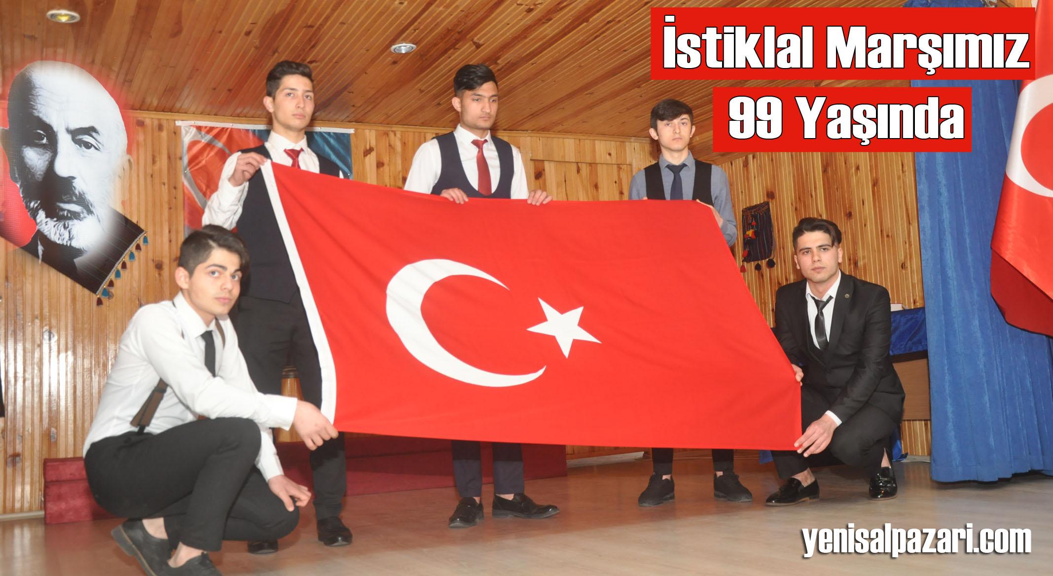 İstiklal Şairi Mehmet Akif Ersoy törenle anıldı