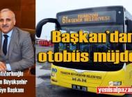 Trabzon Büyükşehir Belediyesi otobüs seferleri çok yakında başlayacak