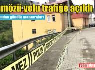 Şalpazarı – Üzümözü yolu kontrollü olarak trafiğe açıldı