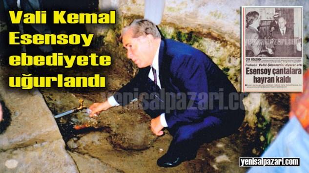 Trabzon eski Valisi Kemal Esensoy'un cenazesi dün Ankara'da toprağa verildi