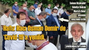 Hafız Hacı Osman Demir Turalıuşağı Mahallesi'nde ebediyete uğurlandı