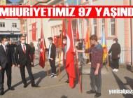Cumhuriyet Bayramı'nın 97. yıldönümü törenle kutlandı