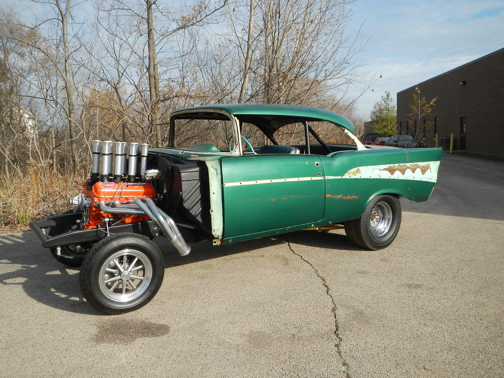 All Chevy 55 chevy for sale : 55 Chevy Gasser Project Cars For Sale