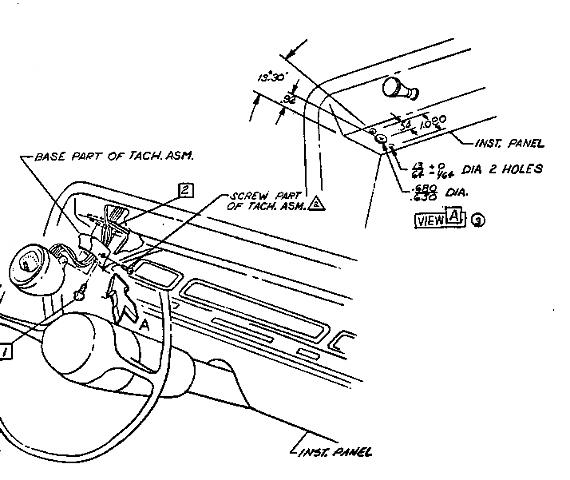 66 Chevelle Tach Wiring Diagram. Electrical. Schematic