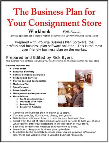 Business Plan For Your Consignment Store Consignment Shop