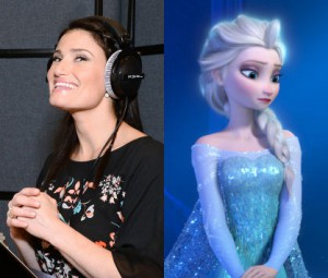 Idina Menzel as Elsa