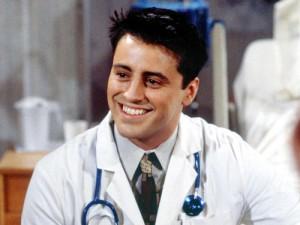 Salvo el Doctor Drake Ramoray, que era un personaje de telenovela interpretado por Joey Tribbiani, interpretado a su vez por Matt Le Blanc.