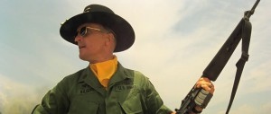 Robert Duvall as Lt. Col. Bill Kilgore.