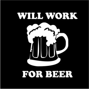 Futuro simple: Will work for beer