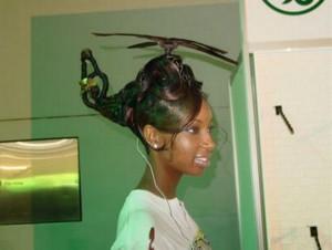 Algunos peluqueros equivocaron su profesión.