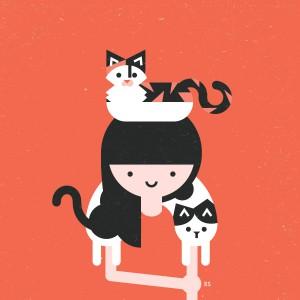 Y además le gustan los gatos